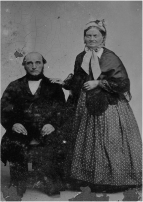 First Organist, Swan Youngquist & wife, Gustafia