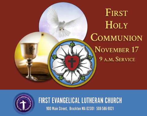 11/17/2019 - First Holy Communion at 9 a.m. Service