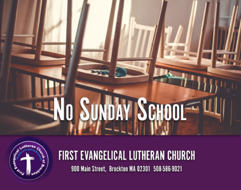 10/13/2019: No Sunday School