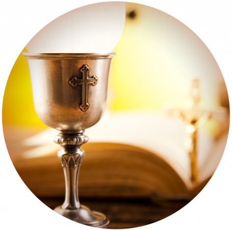 Communion Cup in Circle